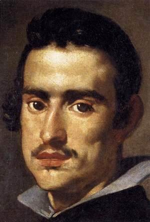 Velazquez - A Young Man (detail) 1623-24