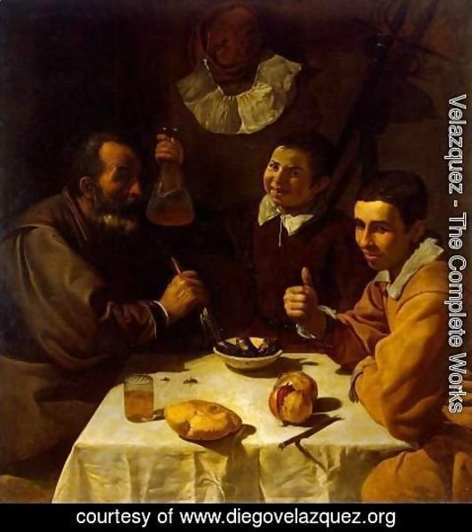 Velazquez - Breakfast c. 1618