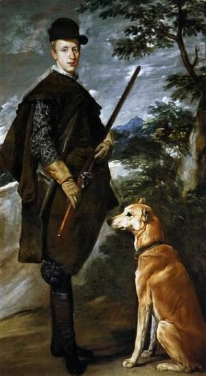 Velazquez - Cardinal Infante Don Fernando as a Hunter 1632-33