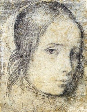 Velazquez - Head of a Girl c. 1618
