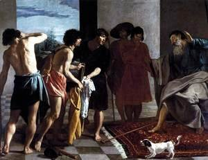 Velazquez - Joseph's Bloody Coat Brought to Jacob 1630