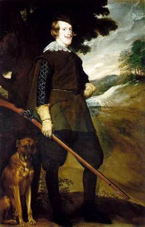 Velazquez - King Philip IV as a Huntsman 1634-35