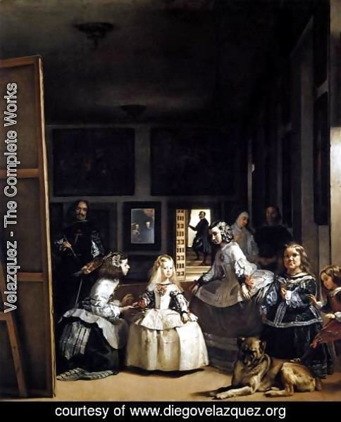 Velazquez - Las Meninas or The Family of Philip IV 1656-57