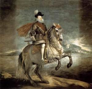 Velazquez - Philip III on Horseback 1634-35