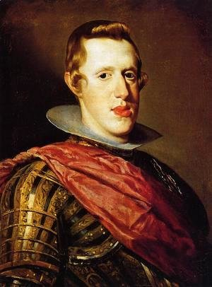 Velazquez - Philip IV in Armour c. 1628