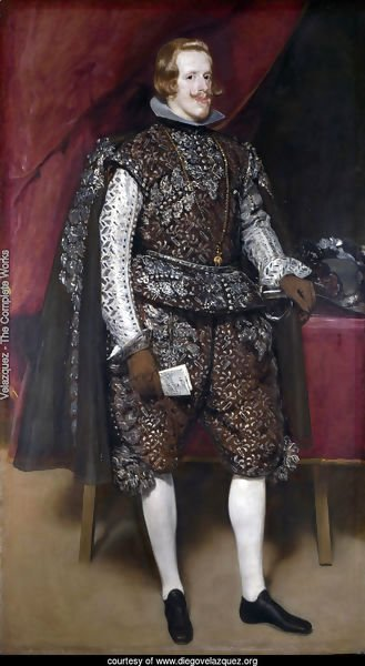 Philip IV in Brown and Silver 1631-32