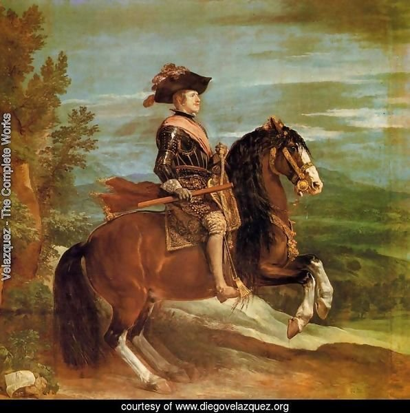 Philip IV on Horseback 1634-35