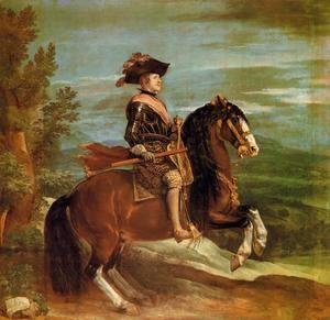 Velazquez - Philip IV on Horseback 1634-35
