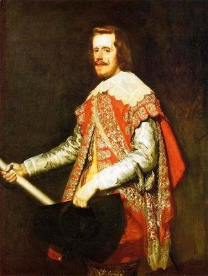 Velazquez - Phillip IV in Army Dress (The portrait of Fraga) 1644
