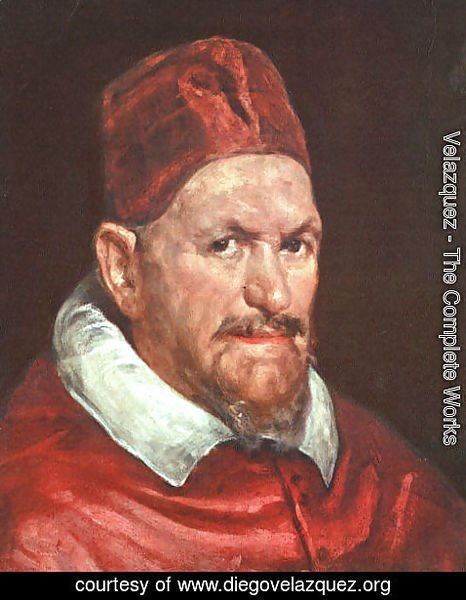 Velazquez - Pope Innocent X c. 1650