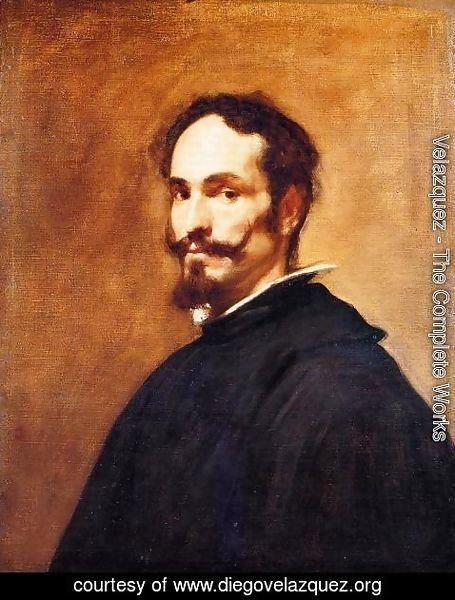 Velazquez - Portrait of a Man c. 1649