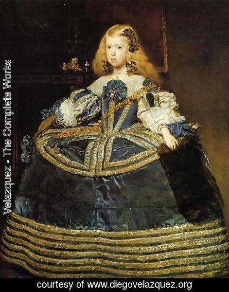 Velazquez - Portrait of the Infanta Margarita c. 1660