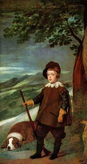 Prince Baltasar Carlos as a Hunter 1635-36