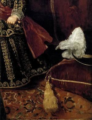 Prince Baltasar Carlos with a Dwarf (detail) 1631
