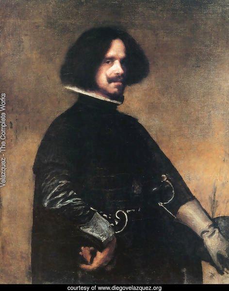 Self-Portrait 1643 - Velazquez Reproduction Velazquez Self Portrait