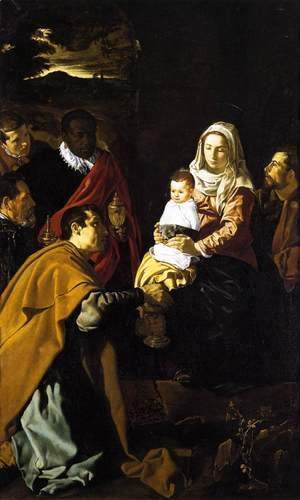 Velazquez - The Adoration of the Magi 1619