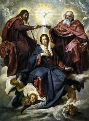 Velazquez - The Coronation of the Virgin 1645