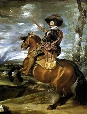 Velazquez - The Count-Duke of Olivares on Horseback 1634