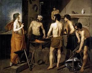 Velazquez - The Forge of Vulcan 1630
