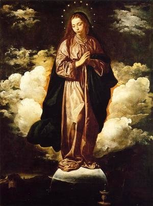 Velazquez - The Immaculate Conception c. 1618