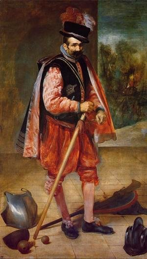 Velazquez - The Jester Known as Don Juan de Austria 1632-35