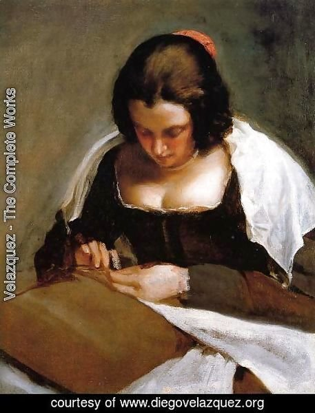 Velazquez - The Needlewoman c. 1640
