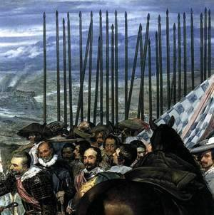 Velazquez - The Surrender of Breda (detail-4) 1634-35