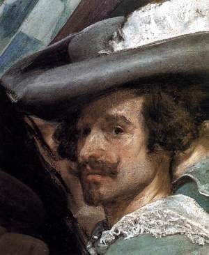 Velazquez - The Surrender of Breda (detail-5) 1634-35