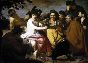 Velazquez - The Triumph of Bacchus (Los Borrachos, The Topers) c. 1629