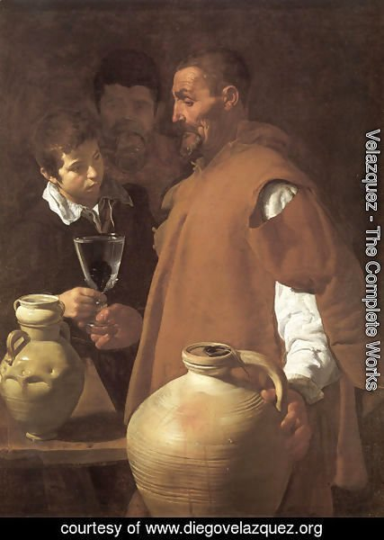 Velazquez - The Waterseller of Seville 1623