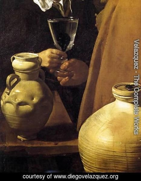 Velazquez - The Waterseller of Seville (detail) 1623
