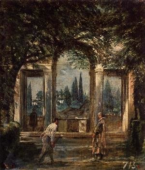 Villa Medici, Pavillion of Ariadne 1630