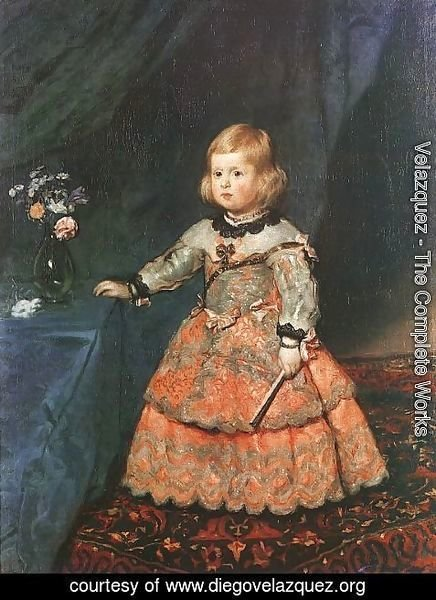 Velazquez - The Infanta Margarita 1653