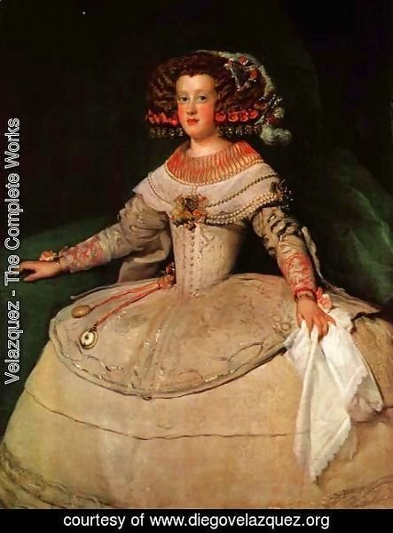 Velazquez - Maria Teresa of Spain (with 'the two watches')