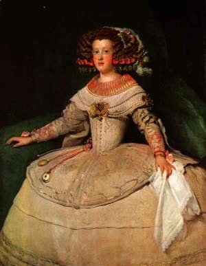 Maria Teresa of Spain (with 'the two watches')