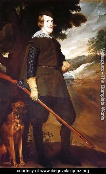 Velazquez - Philip IV as a Hunter