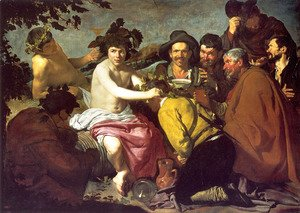 Velazquez - Los Borrachos (The Drunkards) (or The Triumph of Bacchus)