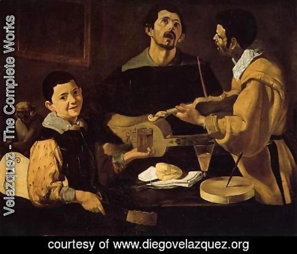 Velazquez - Three Musicians (or Musical Trio)