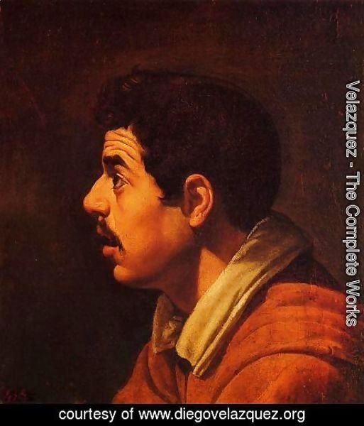 Velazquez - Head of a Young Man in Profile