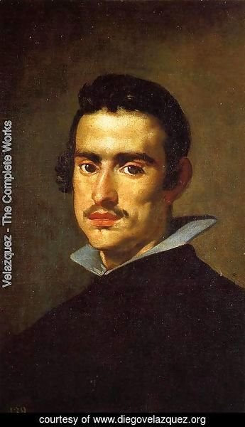 Velazquez - Portrait of a Young Man 2