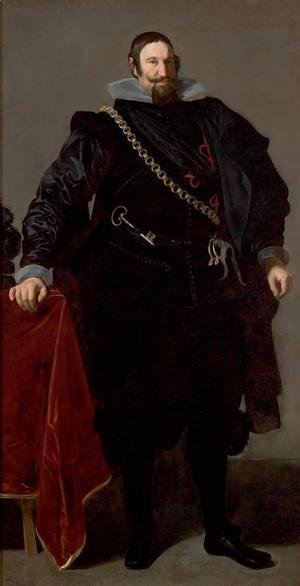 Velazquez - Don Gaspar de Guzman, Count of Oliveres and Duke of San Lucar la Mayor