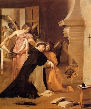 Velazquez - The Temptation of St. Thomas Aquinas