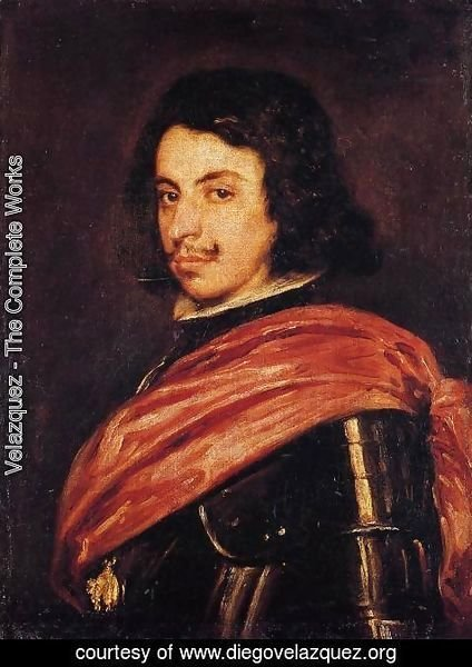 Velazquez - Francesco II d'Este, Duke of Modena