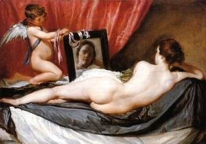 A Venus at Her Mirror