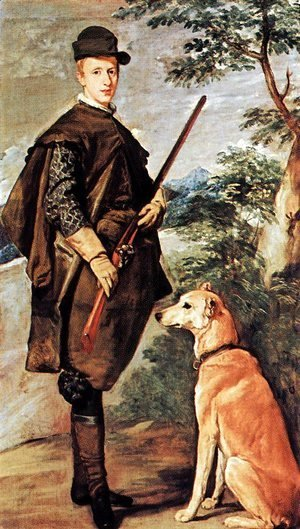 Velazquez - Cardinale Infante Ferdinand of Austria as Hunter