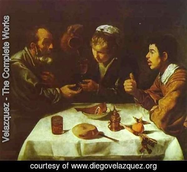 Velazquez - Peasants' Dinner