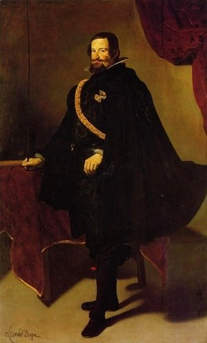 Velazquez - Count-Duke of Olivares 2