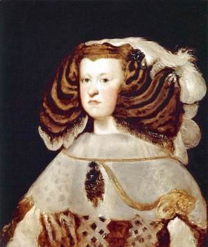 Velazquez - Portrait of Mariana of Austria, Queen of Spain