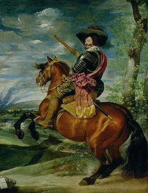 Equestrian Portrait of Don Gaspar de Guzman