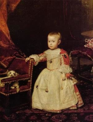 Velazquez - Prince Philip Prosper Son of Philip IV